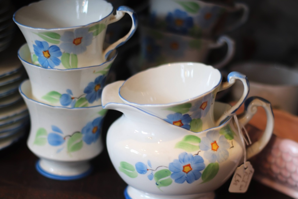 Pretty Paragon china tea set.